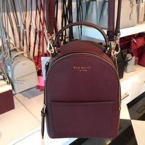 Kate Spade Mini Convertible Backpack Crossbody Bag
